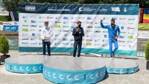 2021 ICF Canoe Slalom Junior & U23 World Championships Ljubjlana Junior K1 Mens Medallists