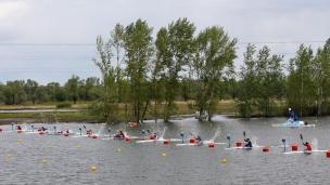 2021 ICF Canoe Sprint Olympic Qualifier Barnaul K1 Men 200m