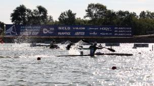 2020 ICF Canoe Sprint World Cup Szeged Hungary K1 Men 200m Heat III