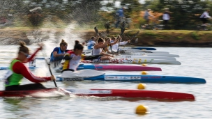 2020 ICF Canoe Sprint World Cup Szeged Hungary K1 Women 200m Semi-final I