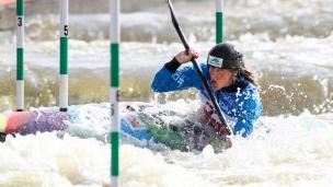 2019 ICF Canoe Slalom World Cup 5 Prague Katerina KUDEJOVA
