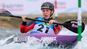 2019 ICF Canoe Slalom World Cup 1 London Kimberley WOODS Great Britain