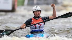 2021 ICF Canoe Slalom World Cup Prague Klaudia ZWOLINSKA