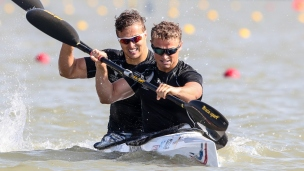 2019 ICF Canoe Sprint World Championships Szeged Hungary Kurtis IMRIE, Max BROWN