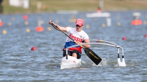 2020 ICF Canoe Sprint World Cup Szeged Hungary Larisa VOLIK