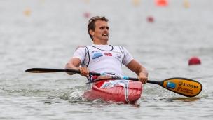 2020 ICF Canoe Sprint World Cup Szeged Hungary Lars Magne ULLVANG