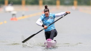 2021 ICF Canoe Sprint World Cup Szeged Liudmyla LUZAN