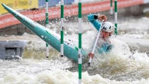 2019 ICF Canoe Slalom World Cup 5 Prague Luka BOZIC