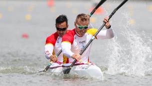 2021 ICF Canoe Sprint World Cup Szeged Marcus WALZ, Rodrigo GERMADE