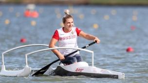 2020 ICF Canoe Sprint World Cup Szeged Hungary Mariia NIKIFOROVA