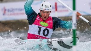2019 ICF Canoe Slalom World Cup 1 London Martin THOMAS France