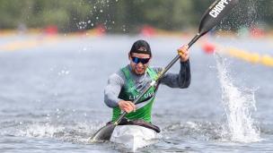 2021 ICF Canoe Sprint Olympic Qualifier Barnaul Mindaugas MALDONIS