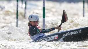 2021 ICF Canoe Slalom World Cup Prague Natalia PACIERPNIK