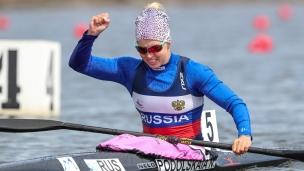 2021 ICF Canoe Sprint Olympic Qualifier Barnaul Natalia PODOLSKAIA