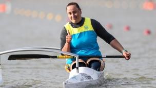 2021 ICF Paracanoe World Cup & Paralympic Games Qualifier Nataliia LAHUTENKO