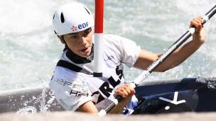 2021 ICF Canoe Slalom Junior & U23 World Championships Ljubjlana Romane Prigent