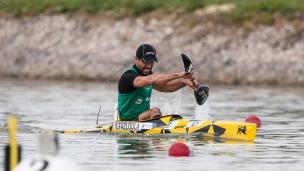 2021 ICF Canoe Sprint World Cup Szeged Saeid FAZLOULA