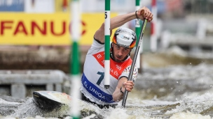 2021 ICF Canoe Slalom World Cup Prague Sideris TASIADIS