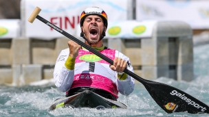 2019 ICF Canoe Slalom World Cup 1 London Sideris TASIADIS Germany