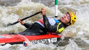 2019 ICF Canoe Slalom World Cup 5 Prague Tereza Fiserova