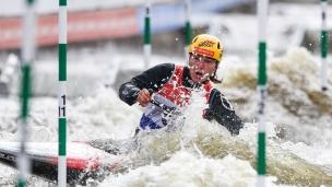 2021 ICF Canoe Slalom World Cup Prague Tereza FISEROVA