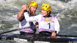 2019 ICF Canoe Slalom World Championships La Seu d'Urgell Spain Tereza FISEROVA Jakub JANE