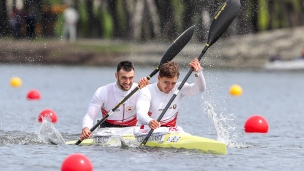 2021 ICF Canoe Sprint Olympic Qualifier Barnaul Zakharanka RAMAN, Belaus ULADZISLAU