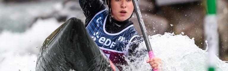 Morocco Celia Jodar canoe slalom