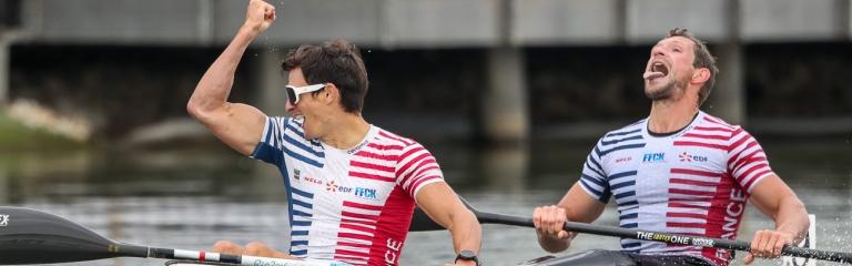 France Carre Hubert men K2 1000 Szeged 2020