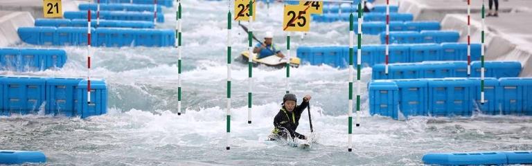 Tokyo 2020 Olympic canoe slalom venue