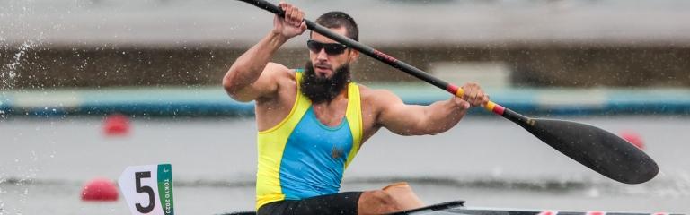 Ukraine Serhii Yemelianov paracanoe Tokyo Paralympics 2021
