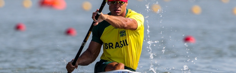 Caio Ribeiro has qualified Brazil in both Kayak and Va'a
