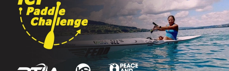 ICF Paddle Challenge Canoe Kayak Virtual Competition Online Entry Rotomond Kayak Session Peace and Sport Charity