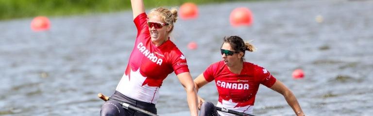 Canada Laurence Vincent-Lapointe Katie Vincent C2 500 Poznan 2019
