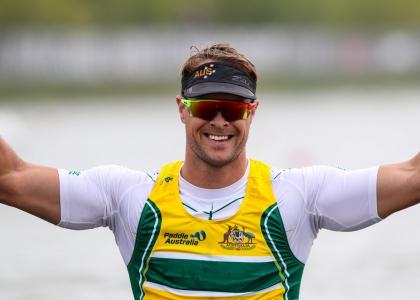 Australia Curtis McGrath Paracanoe Montemor 2018