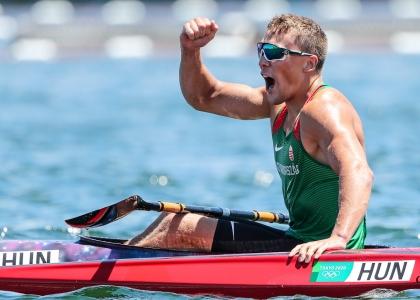 Hungary Balint Kopasz K1 1000 Tokyo Olympics