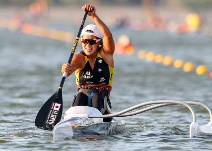 Japan Monika Seryu Paracanoe world championships Szeged 2019