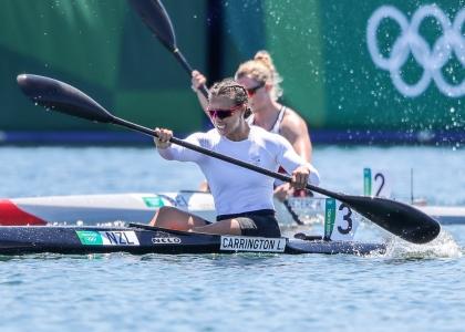 New Zealand Lisa Carrington K1 500 Tokyo Olympics