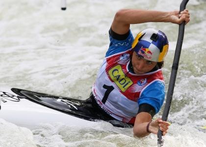 Australia Jessica Fox K1 slalom world cup La Seu 2021