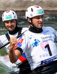 Ladislav and Peter Skantar (SVK) C2 Men