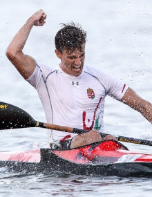 Ádám PETRÓ (HUN) K1 Men U23 World Champion