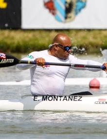 Puerto Rico Eddie Montanez Paracanoe Szeged World Cup