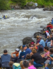 French team dominiates Wildwater Canoeing Sprint Races during second WorldCup in Muotathal (SUI)