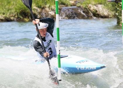 France Anatole Delassus canoe slalom K1 Tacen U23 2021
