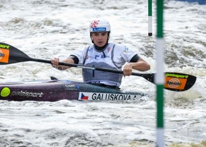 Czech Antonie Galuskova K1 qualifiers junior world championships Krakow 2019