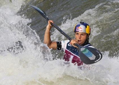 Australia Jessica Fox K1 slalom Pau 2021