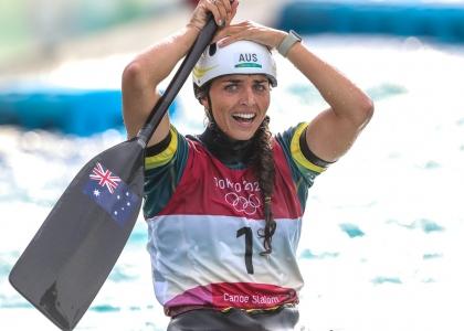Australia Jessica Fox C1 Tokyo Olympics