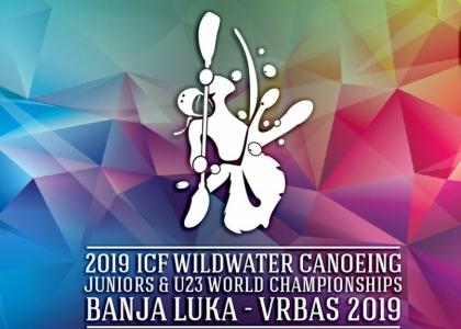 Logo 2019 ICF wildwater world championships Banja Luka