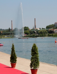 Belgrade canoe sprint venue
