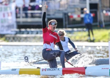 Canada Katie Vincent women C1 200 Copenhagen